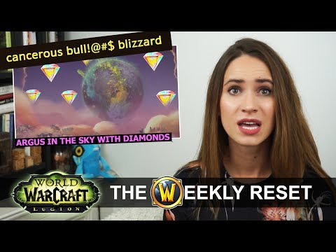 More Legendary Upgrade Changes And Argus In The F*@%ing Sky! The Weekly Reset Warcraft News