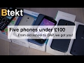 Five pay as you go phones under £100 (sponsored)
