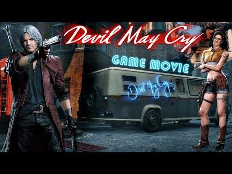 Devil May Cry 5 Игрофильм на Русском. (Game Movie PC 2019)