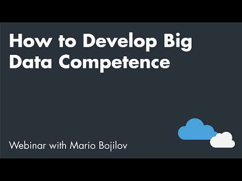 How to Develop Big Data Competence