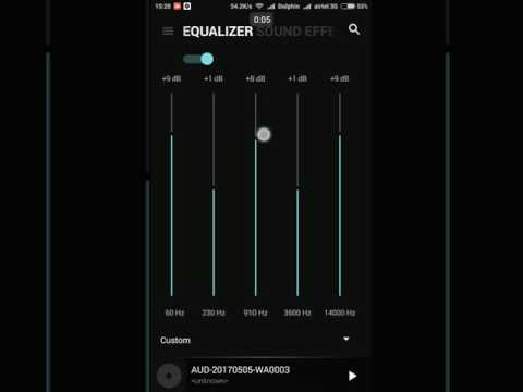 Best Equalizer Settings for Marshmello Alone EDM | Black Player | Headphones Recommended