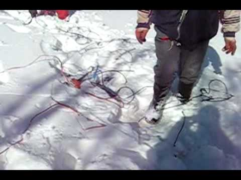 Layout in snow terras persia seismic company from Iran