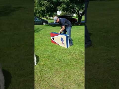4b1a71bd Custom Built Buffalo Bills Cornhole Set | Worldwide American Football