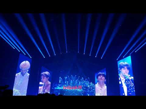 180929 (The Truth Untold: V cried during performance 😭) - BTS 'Love Yourself' Tour Newark Day 2