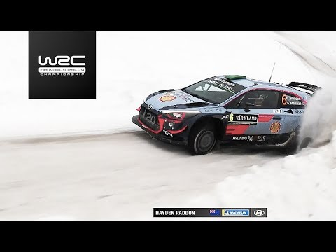 "WRC - Rally Sweden 2018: Aereal Analysis ""Paddon vs. Tänak"""