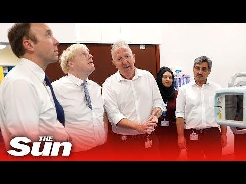 Boris Johnson Grants NHS £1.8bn Cash Injection