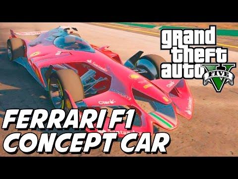 GTA V – Ferrari Formula 1 Concept Car MOD