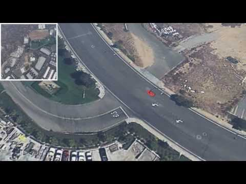 Paul Walker Crash Site 3D Reconstruction