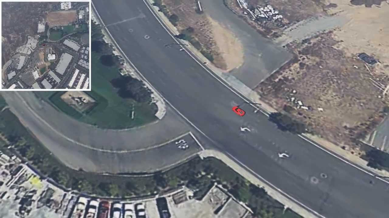 Paul Walker Crash Site 3D Reconstruction - YouTube