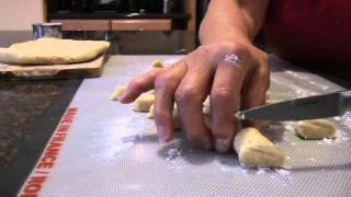 Vanilla Crescent Cookies - Vanilkove Rohlicky - Recipe