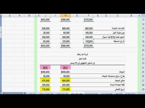 13تحليل مالي شامل 3-1