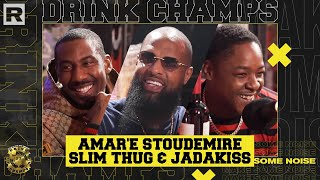 Amar'e Stoudemire, Slim Thug & Jadakiss On The NBA, Business Ventures & More | Drink Champs