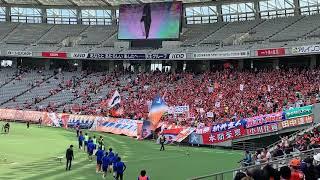 2019 J2 第10節 東京ヴェルディ VS アルビレックス新潟。選手ウォーミン...