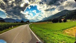 MOTOTRIP Rakousko #3 /Wheelie / Nádherné zatáčky / Rossfeldpanoramastrasse