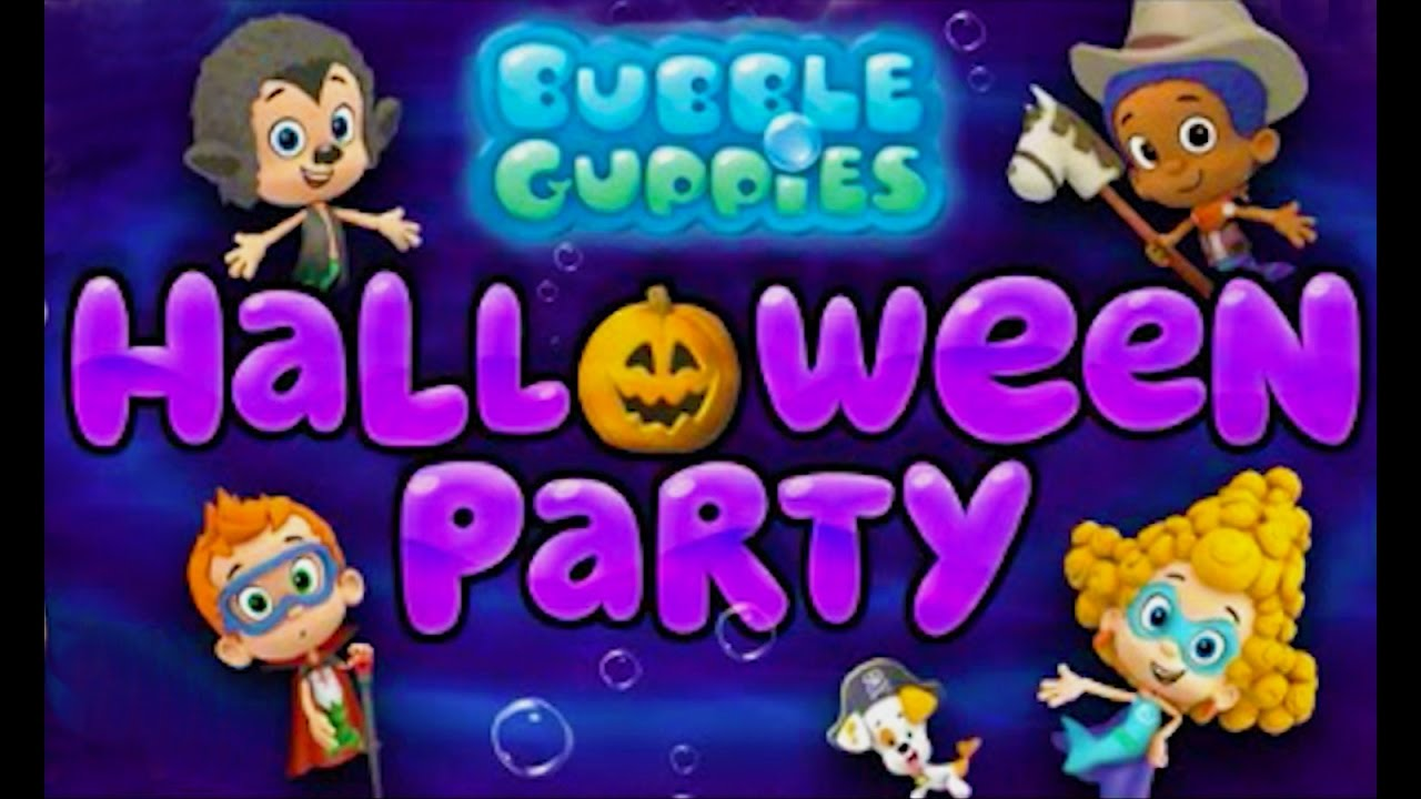 Bubble Guppies Halloween Costume Party Game - YouTube