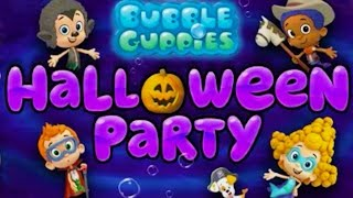 bubble guppies full episode halloween party cartoon video game for kids in english