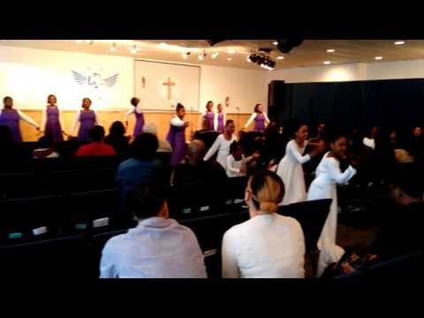 Ebony and the wsec dancers