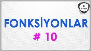 Fonksiyonlar 10 | Fonksiyon Grafiklerini Yorumlama | 10. Sınıf | yeni müfredat