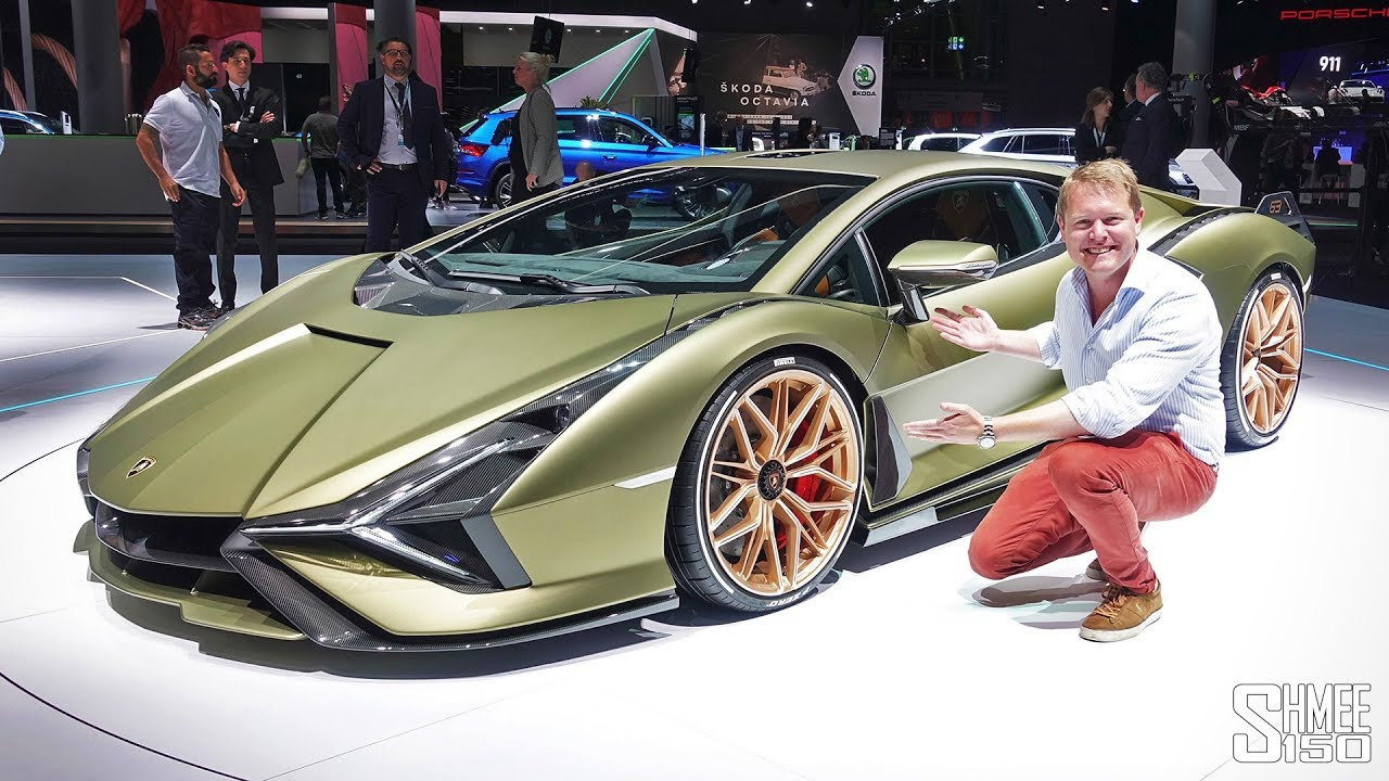 Check Out The New Lamborghini Sian First Look