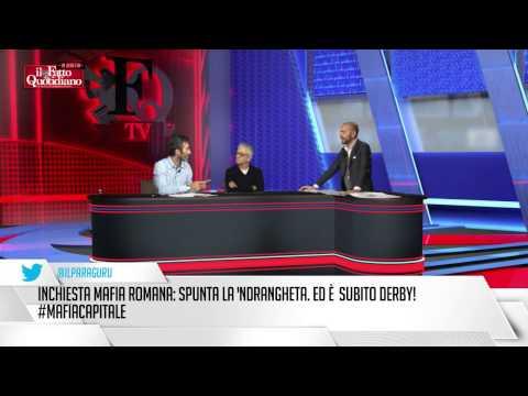 FattoTv, l'ex boss Mancini: 'De Pedis, morto incensurato, oggi sarebbe in Parlamento'