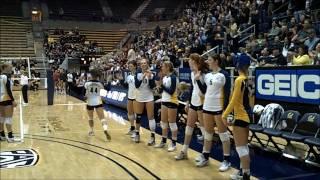 Cal vs. Stanford Women's Volleyball Nov. 19th, 2010 NCAA Big Game by David Makki
