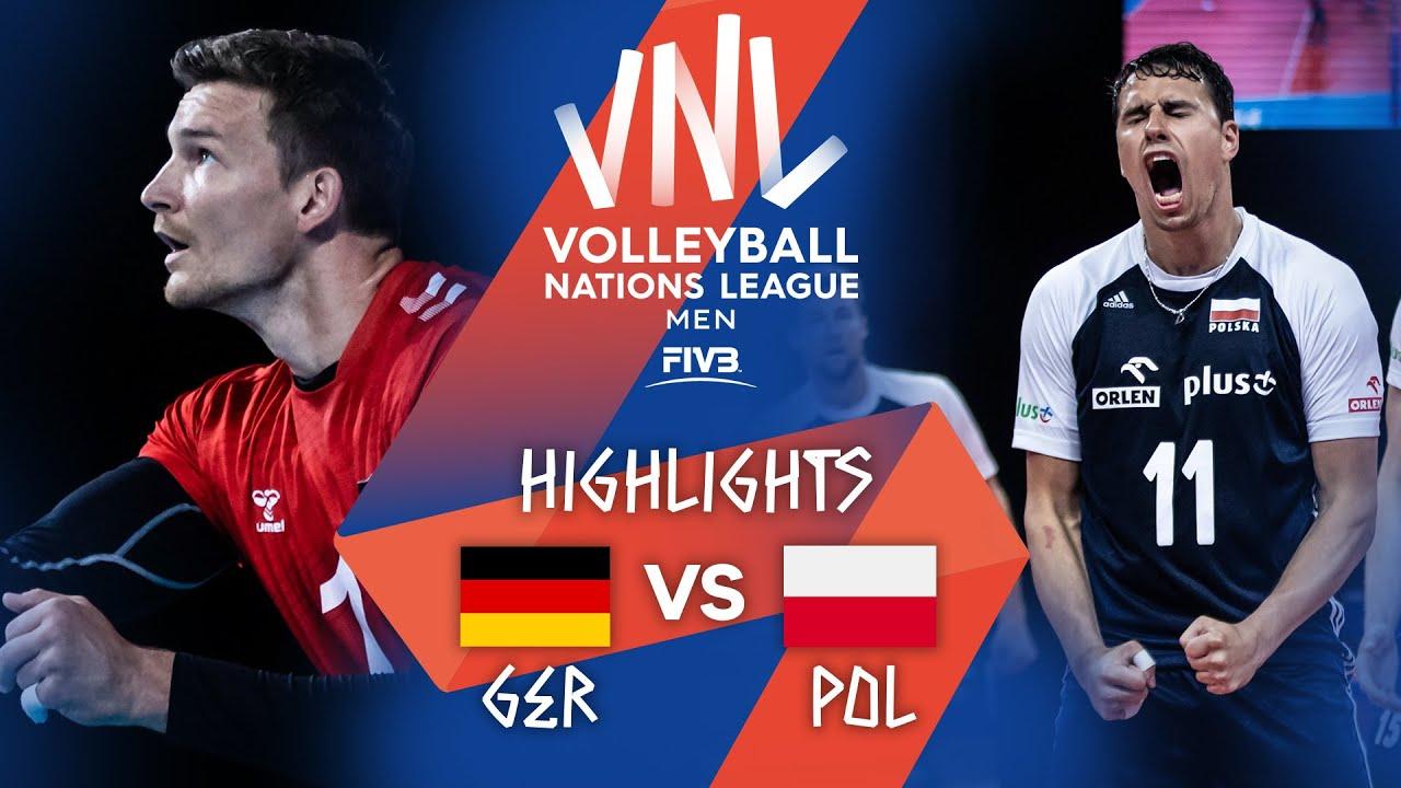 Download GER vs. POL - Highlights Week 4 | Men's VNL 2021