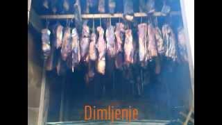 Sušenje dimljene mesa - Pajc recept / Beef smoked meat