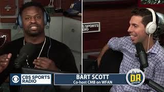Bart Scott joins D.A. in studio