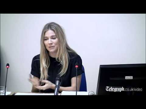 Sienna Miller Tells Leveson Inquiry: News Of The World 'violated My Freedom'