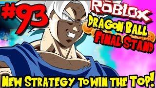 O * NOVO * STRAT PARA GANHAR O TORNEIO DE PODER! | Roblox: Dragon Ball final stand-episódio 93