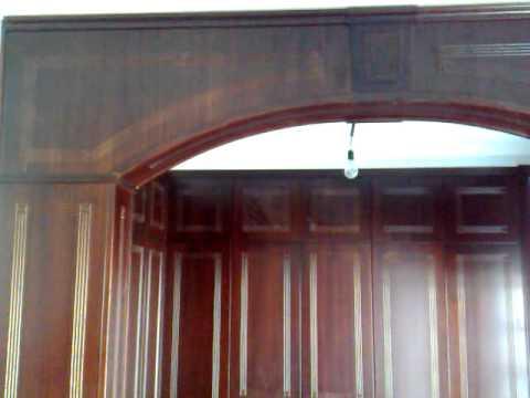 Forrado de arco division dormitorio vestidor youtube - Maderas para arcos ...