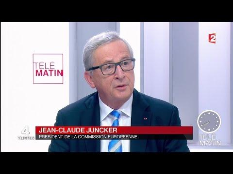 Les 4 vérités - Jean-Claude Juncker - 2016/07/25