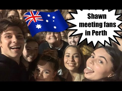 Shawn Mendes Meeting Fans In Perth (19.10.2019)