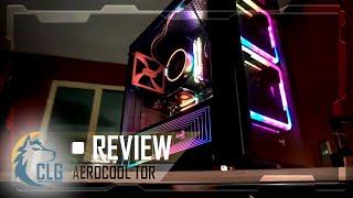 AeroCool TOR MID🌈El gabinete RGB 🌈 que reinventa la rueda🧐(si la rueda fuera cuadrada)⚔️REVIEW ESP🐺
