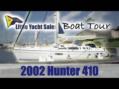 2002 Hunter 410 Sailboat [BOAT TOUR] - Little Yacht Sales