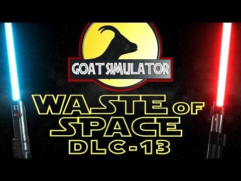 GOAT SIMULATOR #55 WASTE OF SPACE DLC #13 Testing Chambers! Deutsch/German/4K