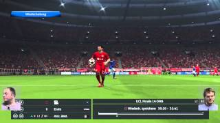 PES 2015 (Multiplayer-Duell)