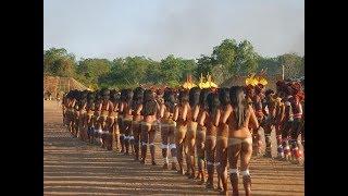 Bộ tộc da đỏ hoang dã rừng amazon khỏa thân