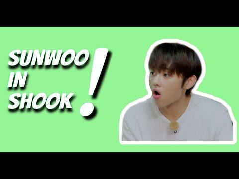 Sunwoo scared compilation(Sunwoo assustado compilado) #1