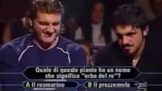 Gattuso e Vieri a