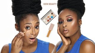 KKW BEAUTY CONCEALER,  KKW X MARIO PALETTE REVIEW.  SHOULD YOU BUY IT?