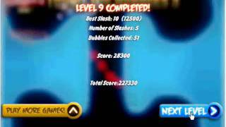 Touch the bubbles 3 (level 1 -17)