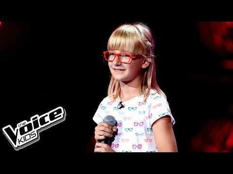 "Zuzia Janik – ""Unconditionally"" – Blind audition – The Voice Kids Poland"