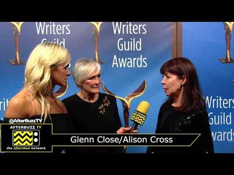 Glenn Close and Alison Cross Interview | WGA Awards 2018