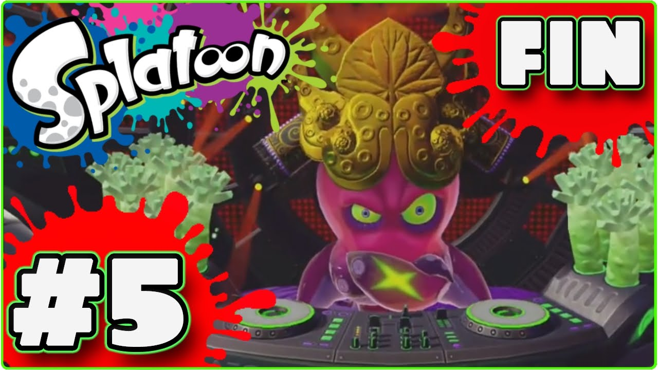 Lets Play Agito Sur Splatoon Fr Hd 5 Fin Mode Solohéros Monde 5 Boss Final