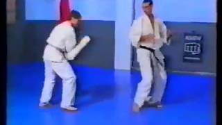 Instruction video -vintage quality- with the late andi hug and michel wedel. both kyokushin legends. second part contains a registration of training by the...