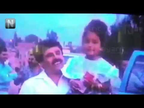 El Chapo y su ahijada en Nayarit (Video real de 1992)
