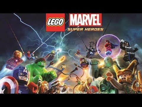 Lego Marvel Super Heroes #1 (немое прохождение/без комментариев)