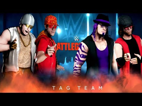 WWE2K18 ZC Tag Team Brawl - Achtel - Match 04: Kevin & Dude Lorenzio vs. Dickbutt & Mr. Doogy