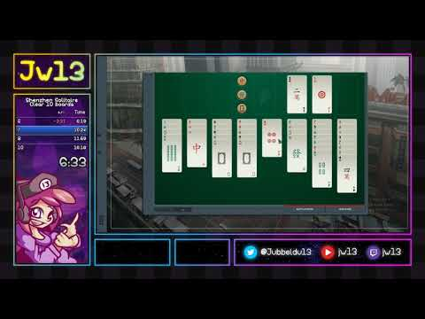 Shenzhen Solitaire | Clear 10 boards in 12:27 |